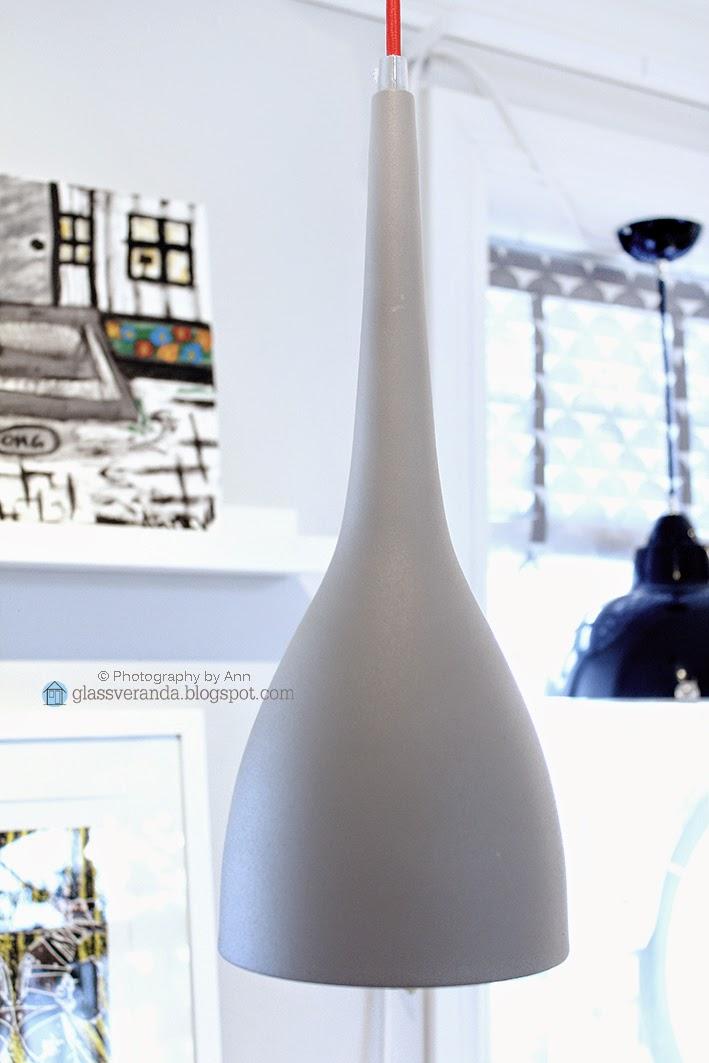 "Glassveranda: Lampe med ""attitude""!"