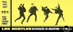 Beatles - Discografía en Argentina
