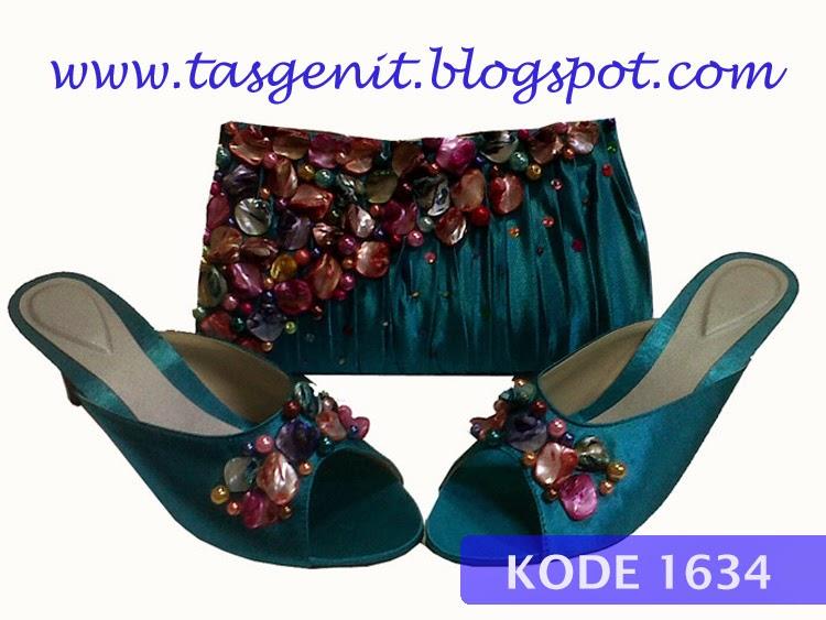 sandal pesta cantik, sandal pesta wanita, sendal kebaya, sepatu pengantin