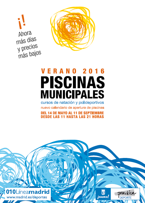 Piscinas municipales verano 2016 vicalv blog distrito for Piscinas municipales madrid 2016