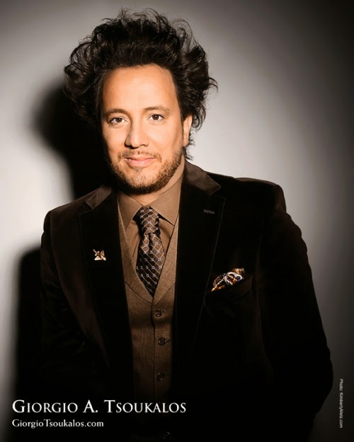 "The Flaming Nose: Giorgio Tsoukalos ""In Search of Aliens ..."