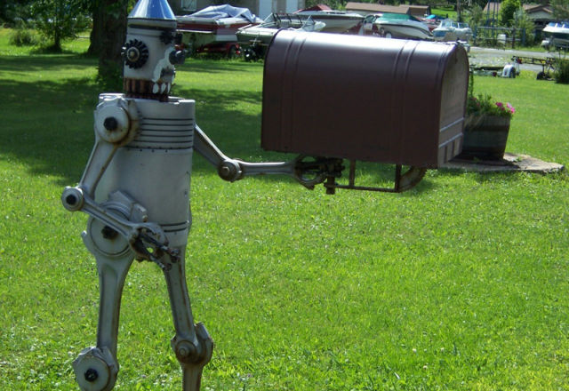 51 most unusual and crazy mailbox designs for Funny mailboxes for sale