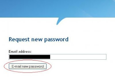 Request New Password Infolinks