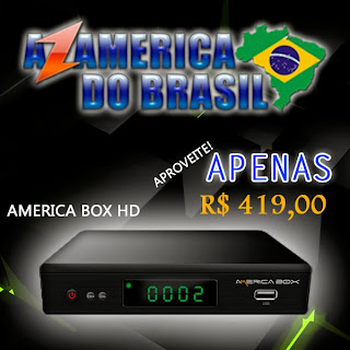 RECEPTOR (AZ AMÉRICA) AMERICABOX SKS / IKS / CS E HDMI