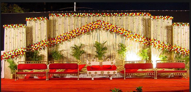 A WEDDING PLANNER: Indian wedding stage decorations and indian