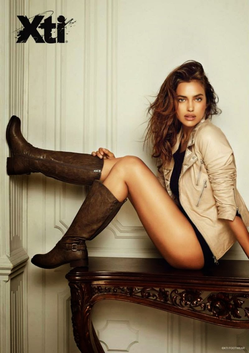 Xti Fall/Winter 2014 Campaign featuring Irina Shayk