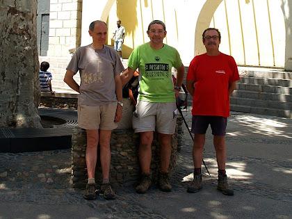 Caminada NIUS d'Arbúcies a Riells del Montseny 2012