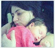 Nos braços da mamãe
