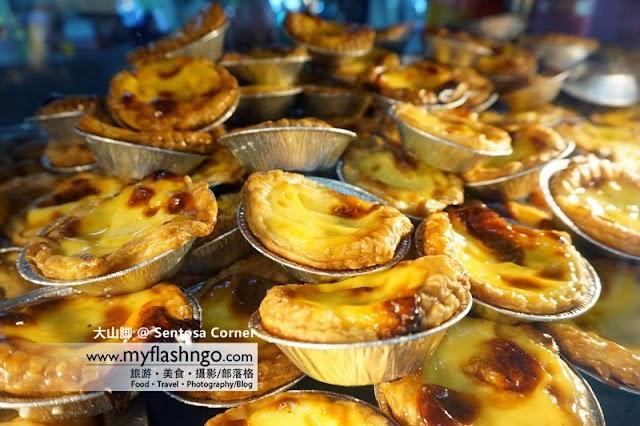 大山脚美食 | 芋头饭、咖喱猪肠粉与各式蛋挞 @ Sentosa Corner 茶餐室