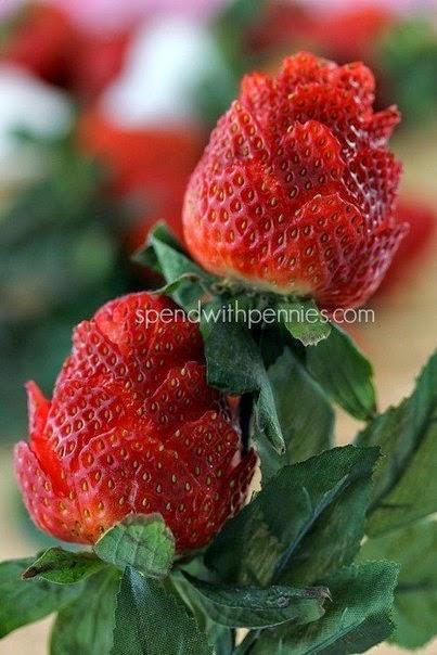 Easy Craft Idea Strawberry Bouquet