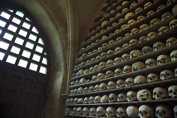 Morbid Anatomy  The Ossuary at St  Leonards Church  Hythe  Kent
