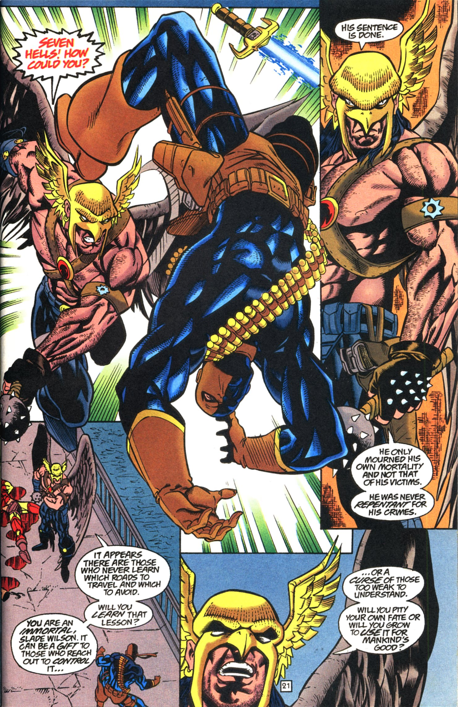 Deathstroke (1991) Issue #52 #57 - English 22