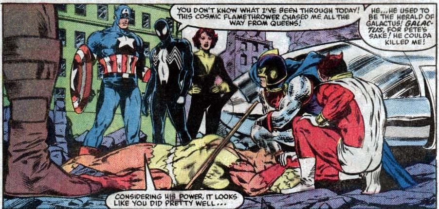 guest appearances and semi plugs the 80s marvel method of dealing