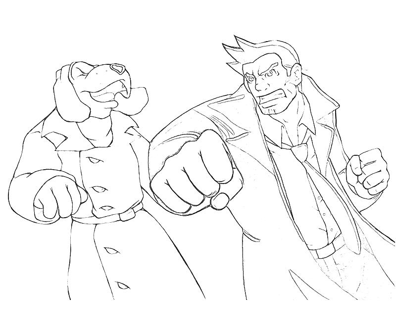 Ace Attorney Investigations Detective