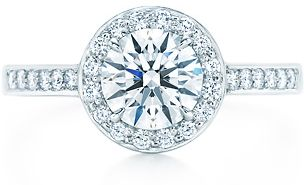 Tiffany Embrace Engagement Wedding Rings