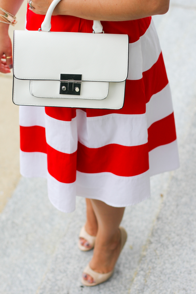 zara white structured bag