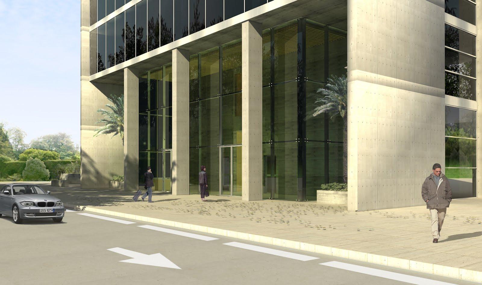 Isasa arquitectos murcia edificio de oficinas en mariano - Arquitectos murcia ...