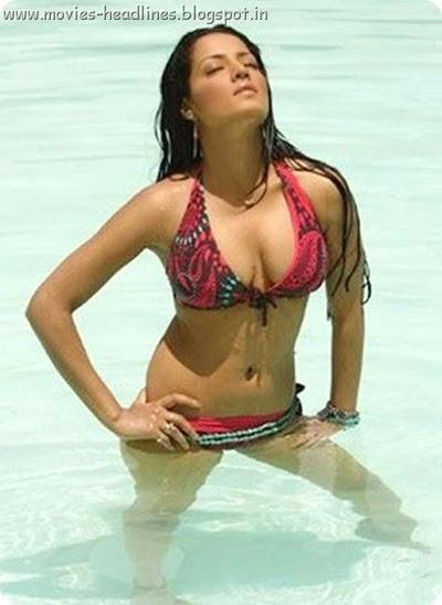 Celina Jaitly bikini images