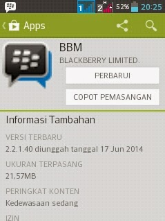 Free download official BBM for Android v.2.2.1.40.APK Full Install