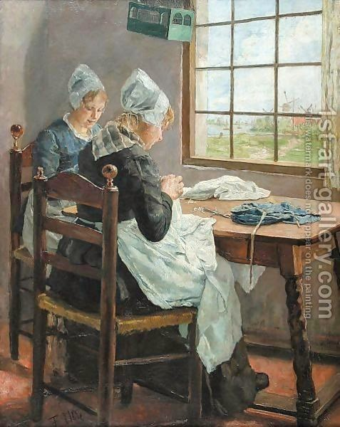 http://www.1st-art-gallery.com/Fritz-Von-Uhde/Dutch-Seamstresses,-Or-Sisters-In-The-Sewing-Room.html