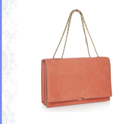 Grace Intemporelle: Victoria Beckham, Nubuck shoulder bag