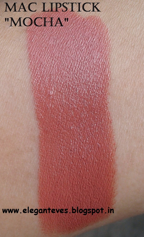 "MAC Satin Lipstick ""Mocha"""