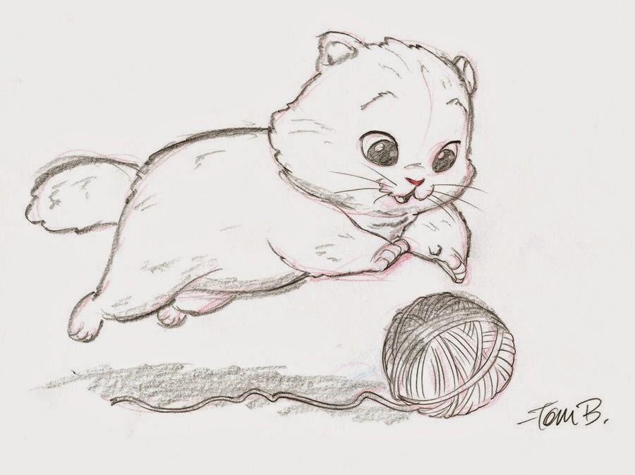 kitten drawings cartoon anime