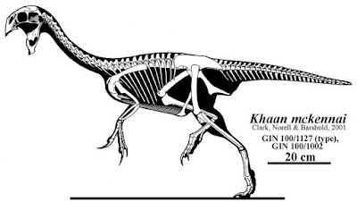Khaan skeleton