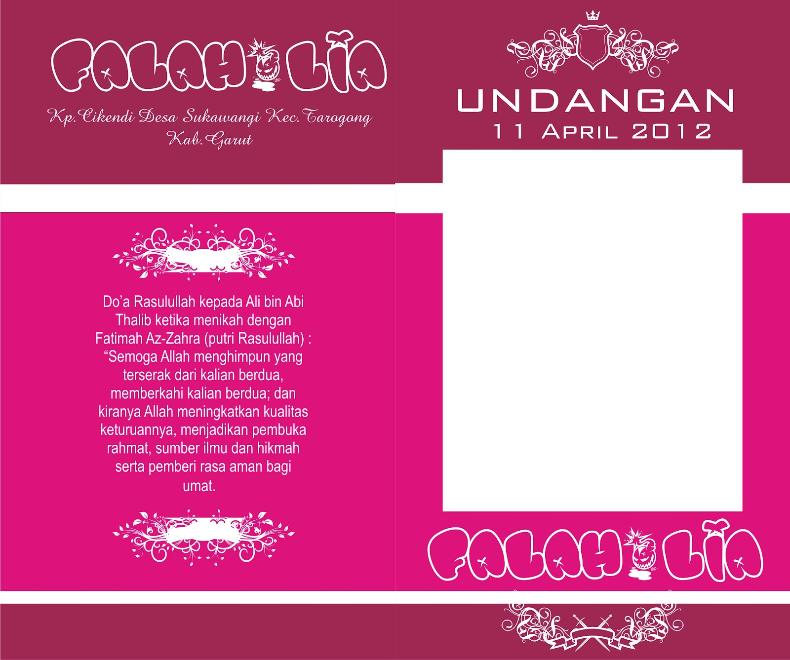 Download Format Undangan Corel Draw Part II