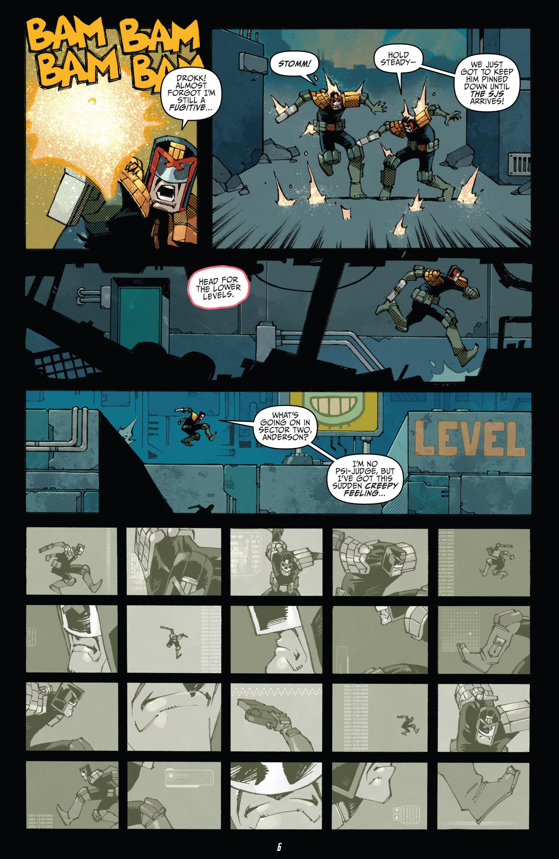 Read online Judge Dredd (2012) comic -  Issue #23 - 8