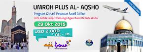 Umroh Plus Al-Aqso (Palestina)