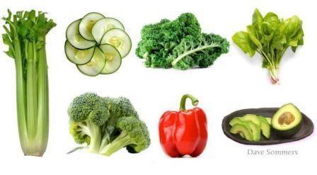 Lista de alimentos alcalinos