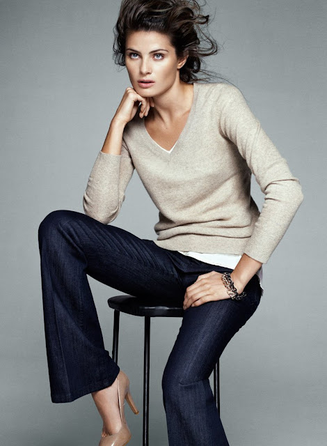 isabeli mango3 Isabeli Fontana for Mango Simplicity Collection