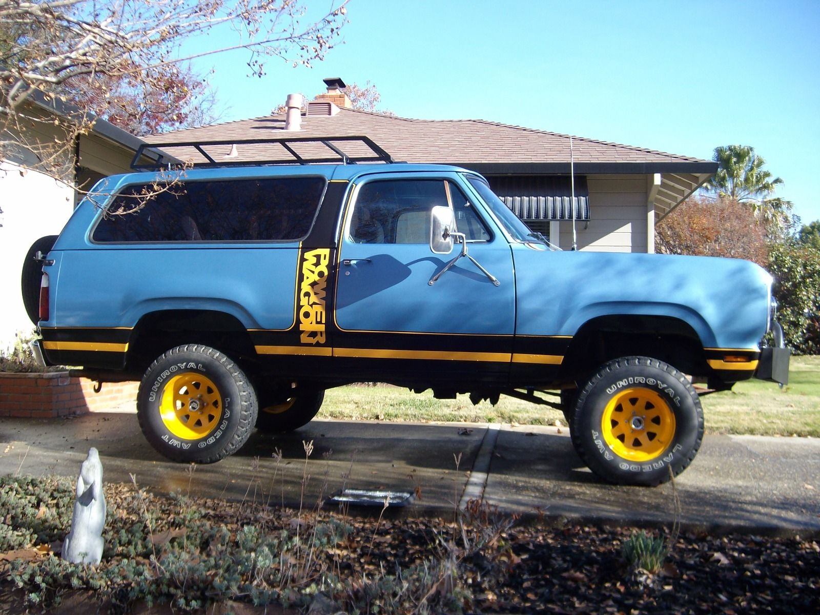 Dodge Ramcharger Macho Power Wagon