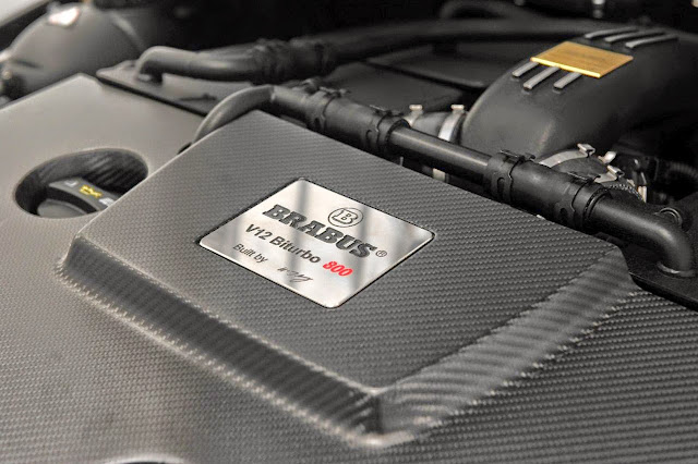 brabus v12 biturbo 800 engine