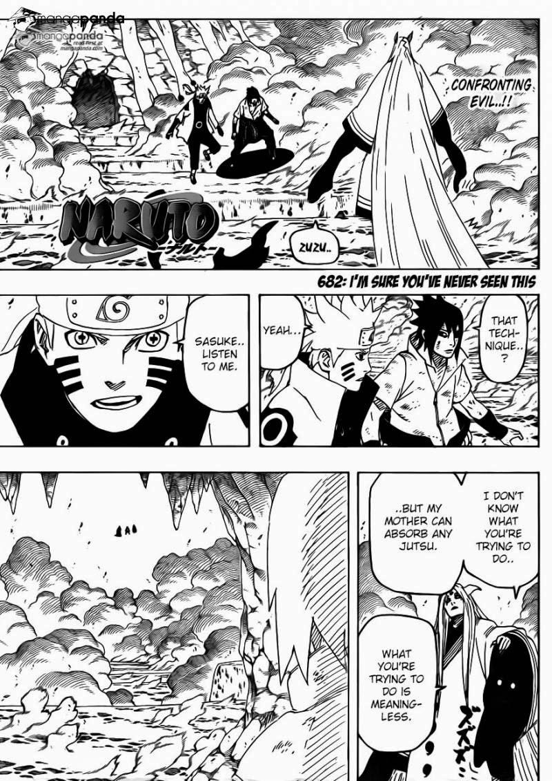Naruto - Chapter 682 - Pic 1