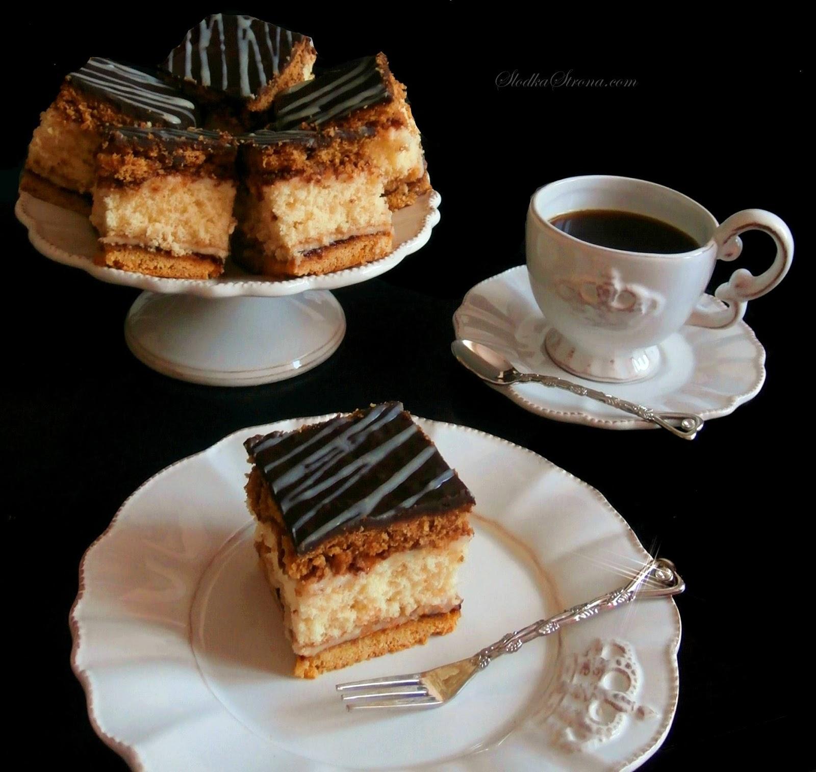 """Ciasto """"Królewiec"""" - Przepis - Słodka Strona"""