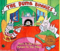 bookcover of  Dumb Bunnies by Dav Pilkey