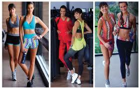 Tendência de moda nas academias: Modelos lindos e super estilosos