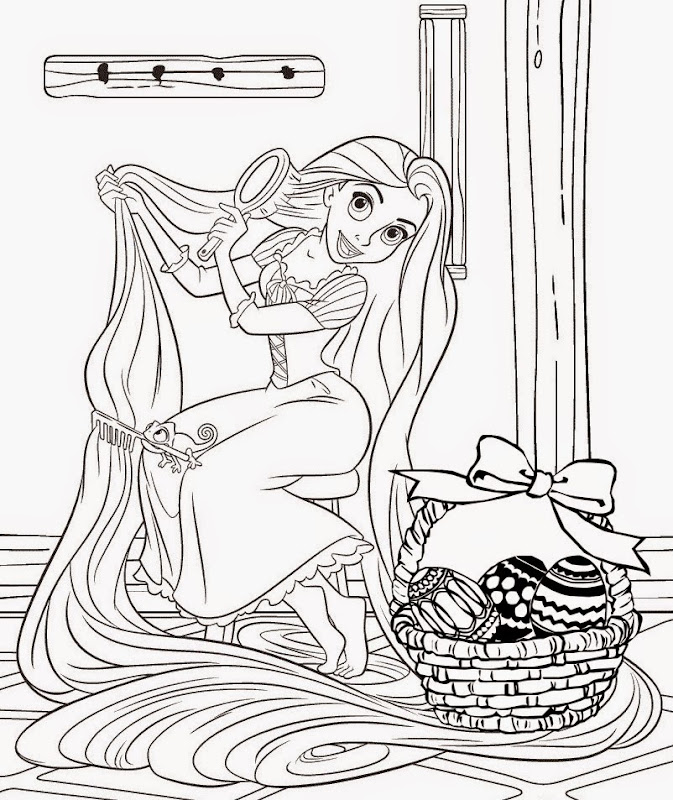 tangled coloring pages printable title=