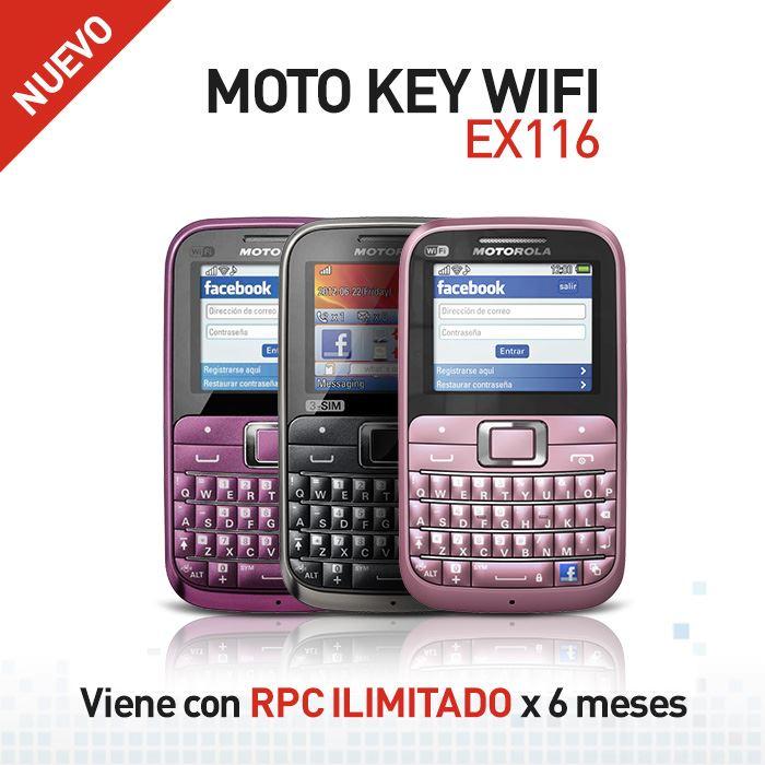 Motorola Moto Key WIFI EX116
