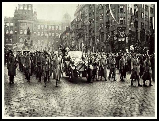 legión checoslovaca, guerra civil rusa, praga