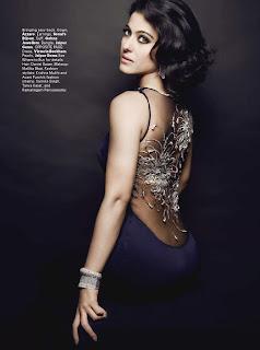 Kajol Hot Photoshoot For Harpers Bazaar Magazine