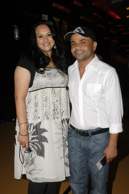 Bollywood Rajpal Yadav With His Wife