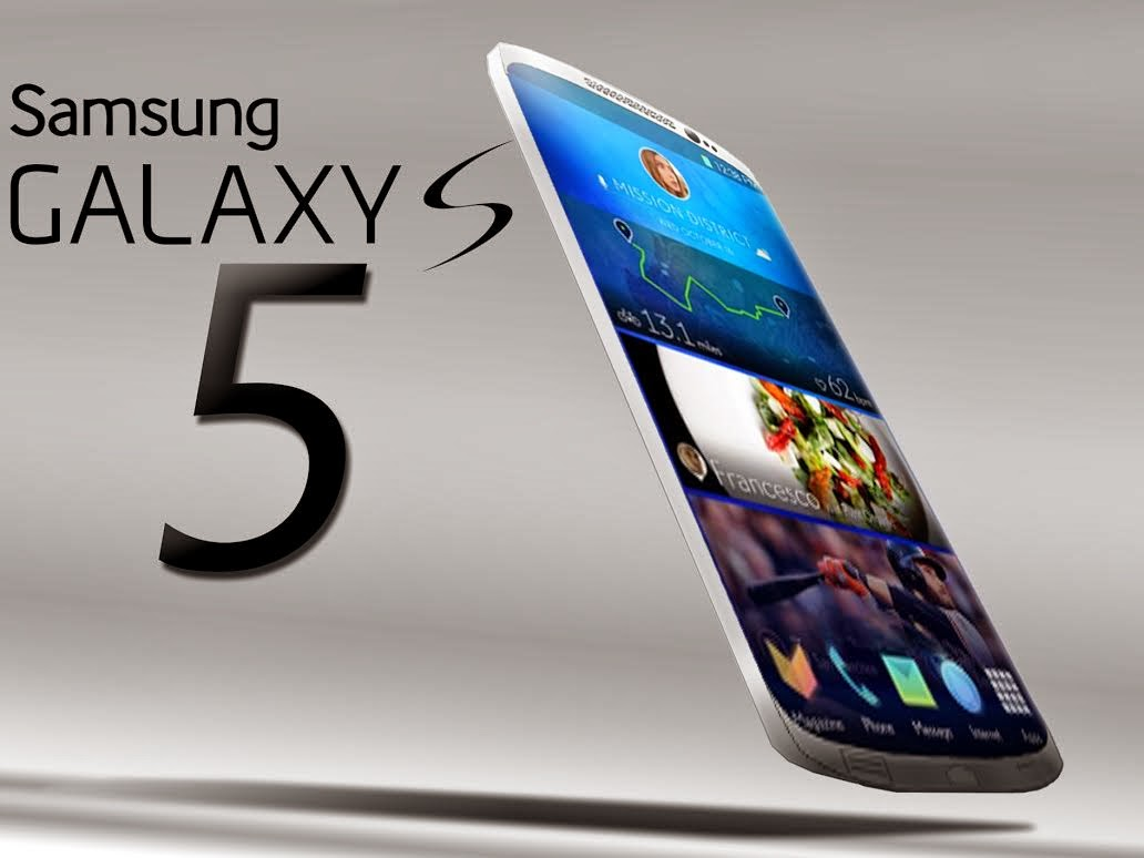 Samsung Launched Galaxy s5 Smart Phone