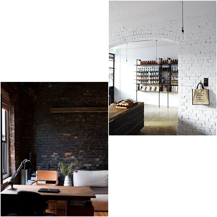 Interior Envy Painted Exposed Brickwork