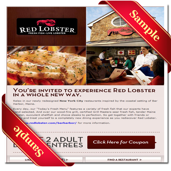 picture about Red Lobster Printable Menu identify Pink lobster cost-free coupon codes / Elvis presley present las vegas