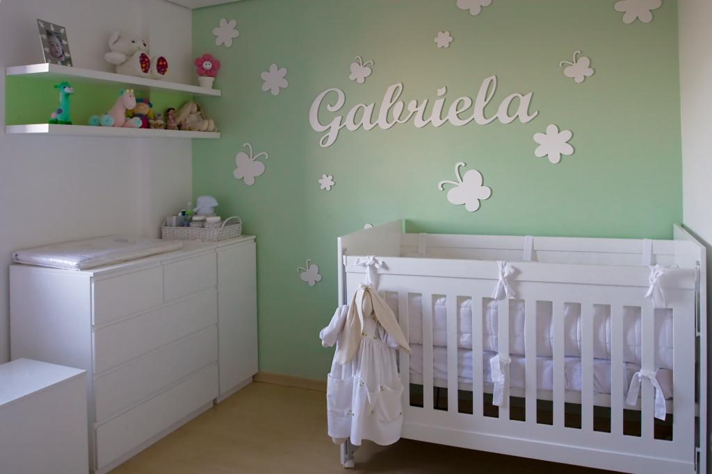 TAB Arquitetura: Projeto Residencial - Quarto de Bebê - Menina