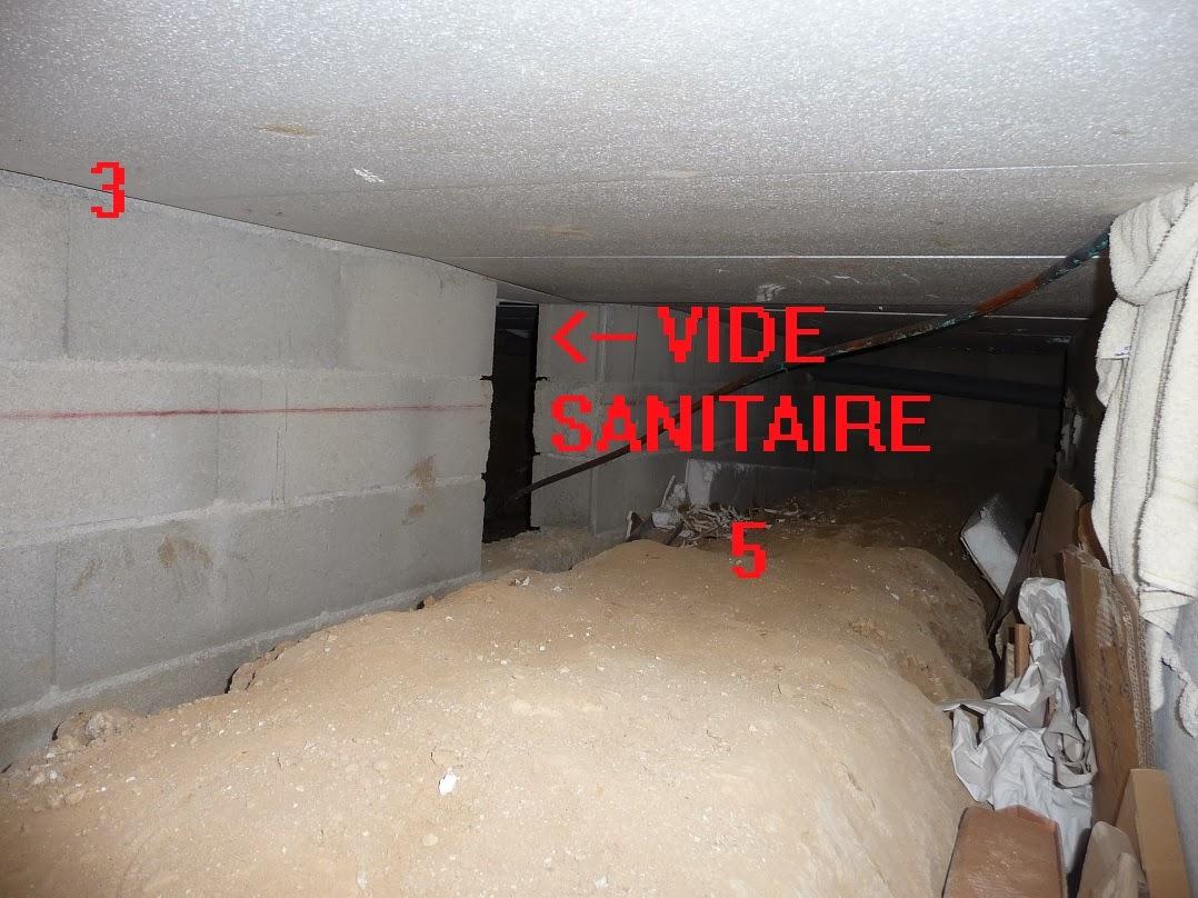 Condensation plafond - Eau dans vide sanitaire normal ...