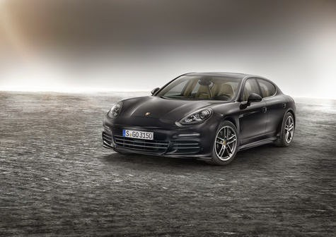 A Diesel version of the Porsche Panamera Translucent 1 Liter For 17 Km